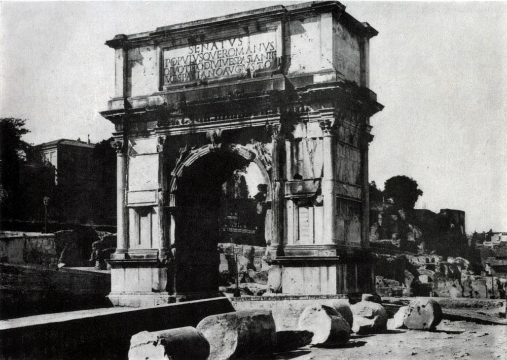 273. Арка Тита в Риме. 81 г. н. э.