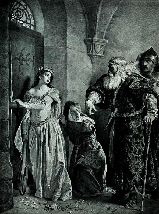 Войцех Герсон. Королева Ядвига и её опекун