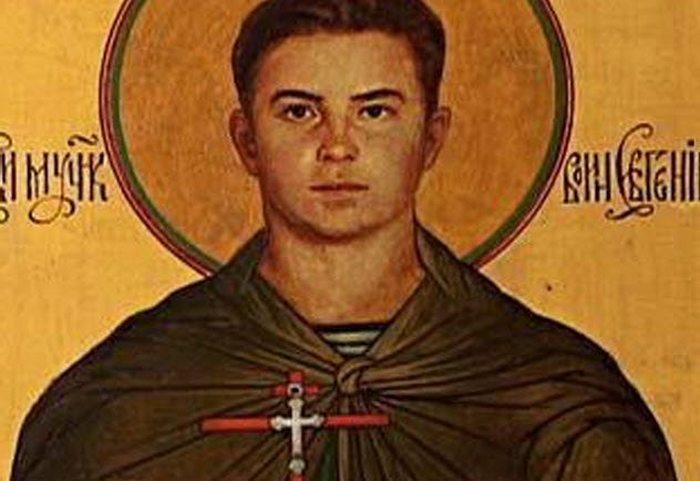Российский солдат Евгений Родионов.